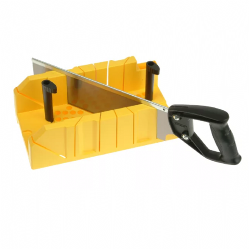 Stanley 120600 Clamping Mitre Box & Fine Tooth Tenon Saw
